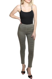 Umgee USA High Waist Jeggings - Front cropped