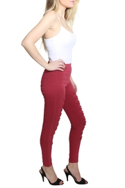 Umgee USA High Waist Jeggings - Front full body