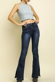 Umgee USA High-Waisted Flare Jeans - Product Mini Image