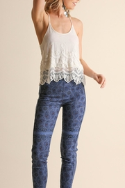 Umgee USA High Waisted Leggings - Product Mini Image