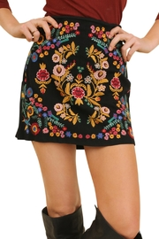 Umgee USA High Waisted Skirt - Product Mini Image