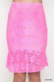 Umgee USA Hot Pink Skirt - Product Mini Image