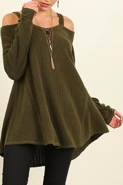 Shoptiques Product: Isabela Sweater Olive