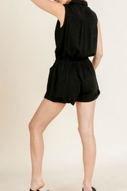 Umgee USA Joelle Utility Romper - Back cropped