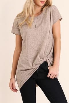 Shoptiques Product: Knotted T Shirt