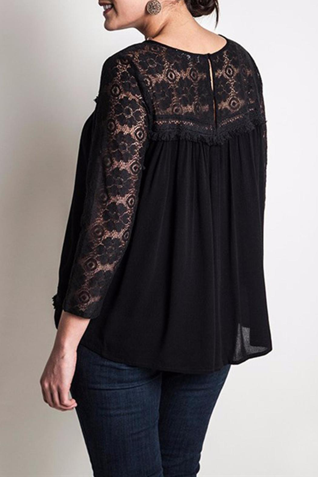 Umgee USA Lace Babydoll Top from Indiana by Lynn's Boutique ...