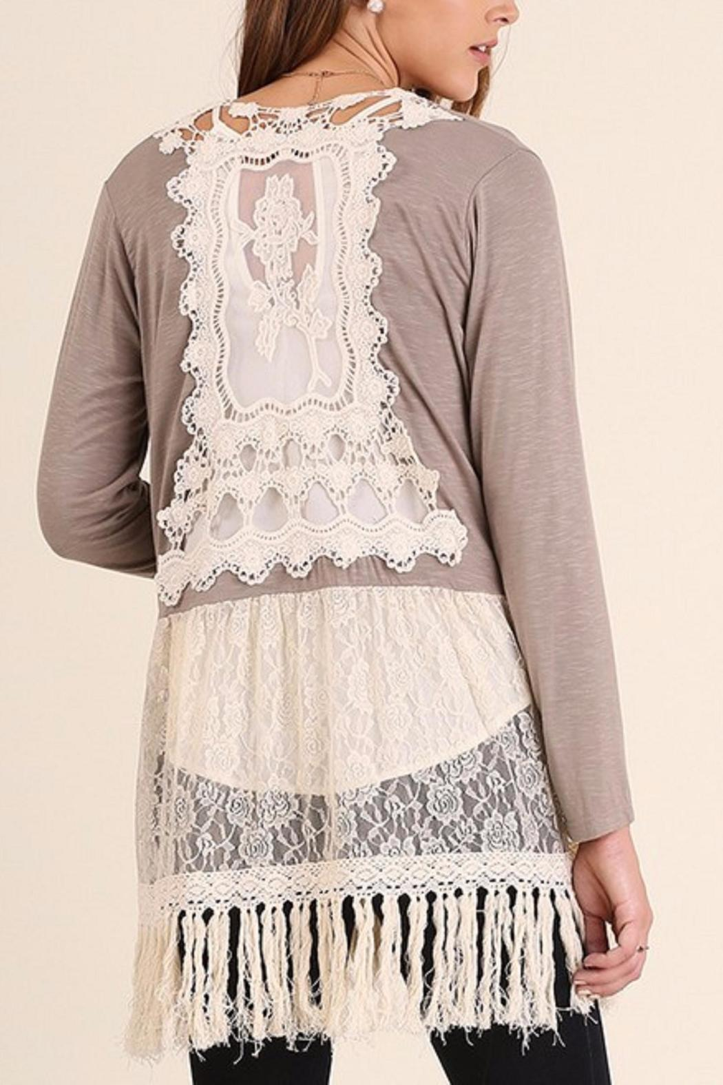 Umgee USA Lace Cardigan from Texas by Cupcaketique — Shoptiques