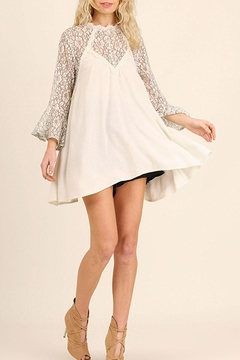 Umgee USA Lace Detailed Tunic Top - Product List Image