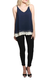 Umgee USA Lace Hemline Top - Product Mini Image