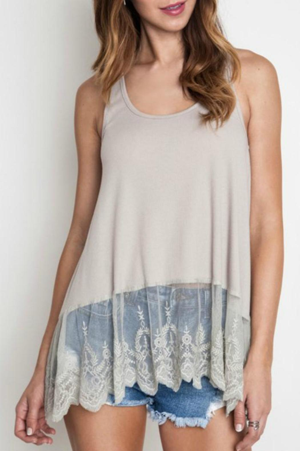 e6e47e776c2cb Umgee USA Lace Layering Tank from Franklin by Adalees — Shoptiques