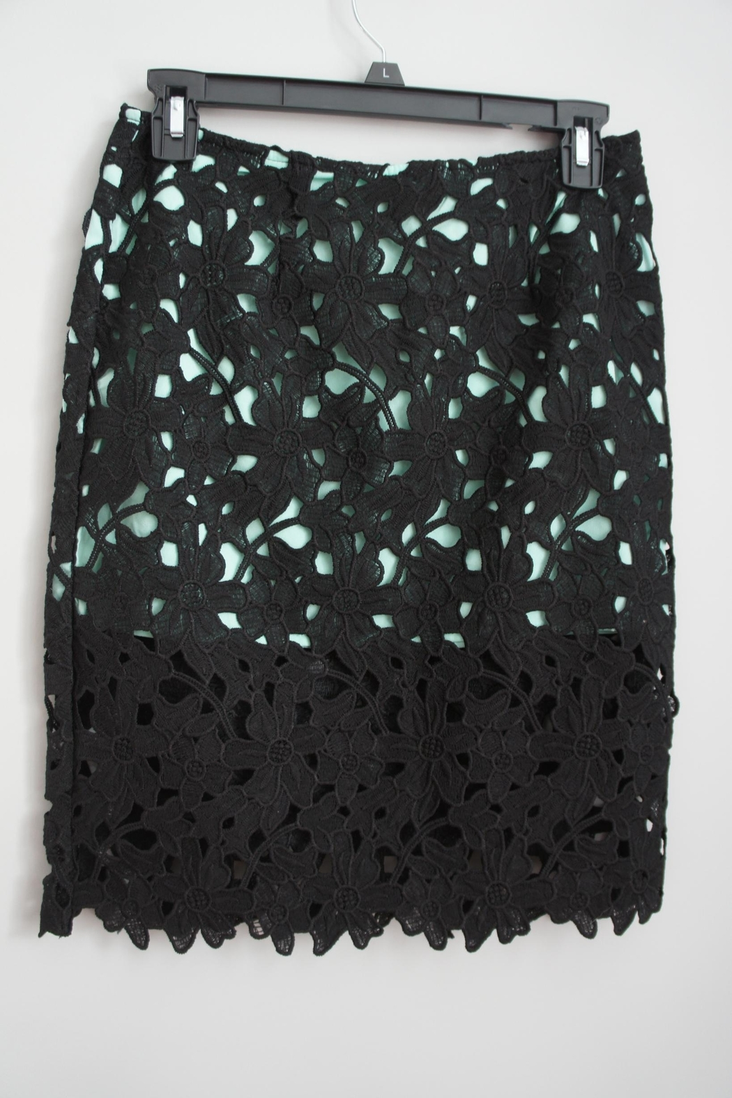Umgee USA Lace Pencil Skirt - Front Cropped Image