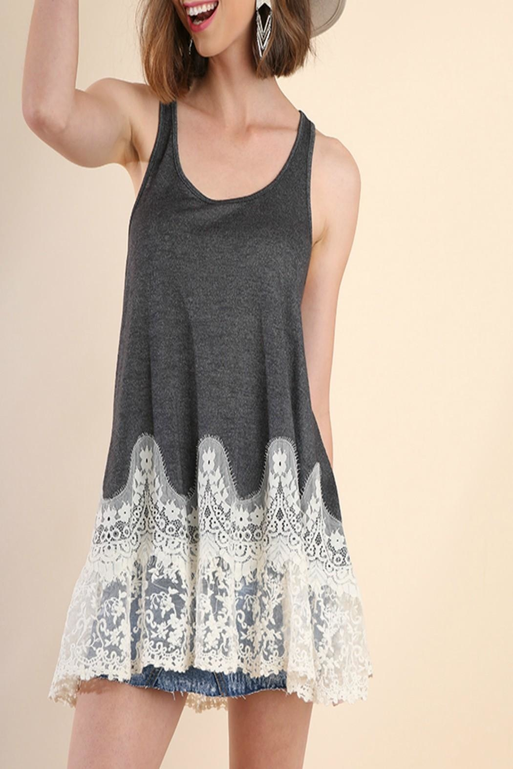 eabbbb8db76 Umgee USA Floral-Lace Tank Top from Kansas by Seirer s Clothing ...