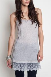 Umgee USA Lace Tank Top - Product Mini Image
