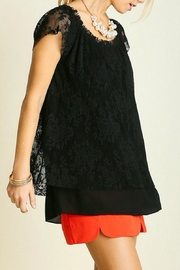 Umgee USA Lace Top - Front full body