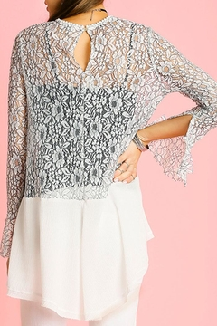 Umgee USA Lace Tunic Top - Alternate List Image