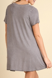 Umgee USA Lace Up Tunic - Front full body