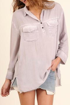 Shoptiques Product: Lavender Faded Tee
