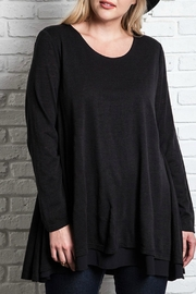 Umgee USA Layered Flared Tunic - Product Mini Image