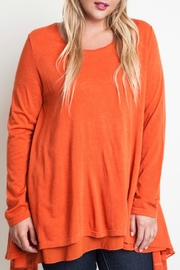 Umgee USA Layered Flared Tunic - Front cropped