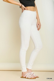 Umgee USA Leggings With Elastic Waistband - Side cropped