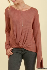 Umgee USA Light Sweater - Front cropped