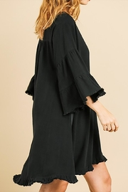 Umgee USA Linen Bell Sleeve - Front full body