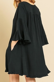 Umgee USA Linen Bell Sleeve - Side cropped