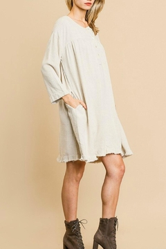 Umgee USA Linen Fringe Dress - Alternate List Image