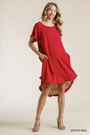Umgee USA Lipstick Leopard Dress - Product Mini Image