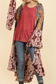 Umgee USA Long Body Kimono - Product Mini Image