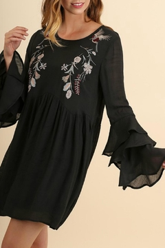 Shoptiques Product: Long-Sleeve Boho Dress