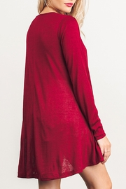 Umgee USA Long Sleeve Dress - Side cropped