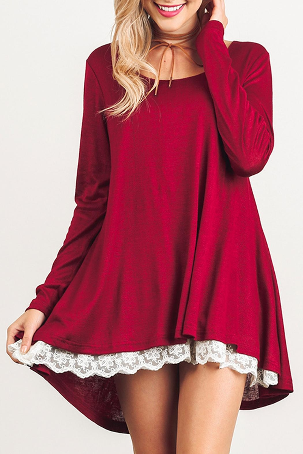 Umgee USA Long Sleeve Dress - Main Image