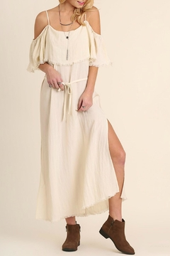Shoptiques Product: Maxidress Ruffle Sleeves