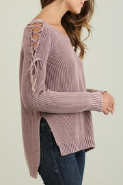 Umgee USA Mineral Washed Sweater - Front full body