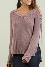 Umgee USA Mineral Washed Sweater - Product Mini Image