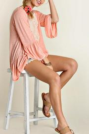 Umgee USA Mini Bell Blouse - Front full body