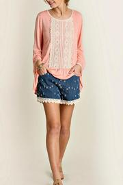 Umgee USA Mini Bell Blouse - Product Mini Image