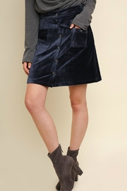 Umgee USA Monday Blues Skirt - Product Mini Image