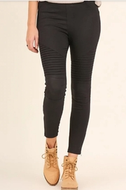 Umgee USA Moto Jeggings - Product Mini Image