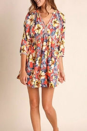 Umgee USA Multicolor Floral Dress - Front cropped