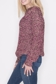 Umgee USA Multicolor Lurex Sweater - Front full body
