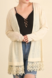 Umgee USA Natural Colored Cardigan - Product Mini Image