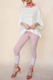 Umgee USA Natural High-Low Top - Side cropped