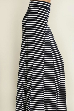 Shoptiques Product: Navy Striped Skirt