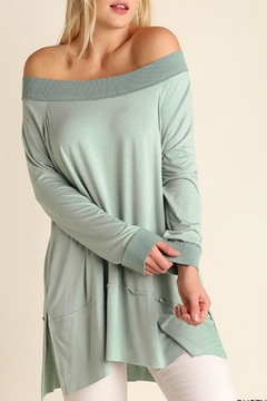Umgee USA Off the Shoulder Classy Top - Product List Image