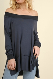 Umgee USA Off-Shoulder Classy Top - Product Mini Image