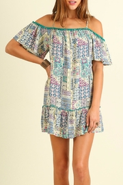 Umgee USA Off Shoulder Dress - Product Mini Image