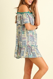 Umgee USA Off Shoulder Dress - Front full body