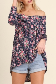 Umgee USA Off Shoulder Floral - Product Mini Image